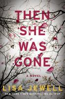 Cover illustration for Then She was Gone