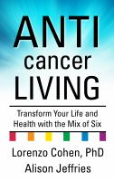 Cover illustration for Anticancer Living