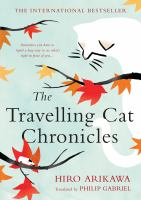 Cover illustration for The Travelling Cat Chronicles