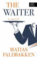 Cover illustration for The Waiter