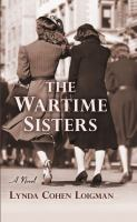 Cover illustration for The Wartime Sisters
