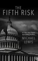 Cover illustration for The Fifth Risk