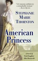 Cover illustration for American Princess