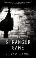 Cover illustration for The Stranger Game