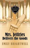 Cover illustration for Mrs. Jeffries Delivers the Goods