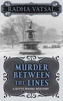 Cover illustration for Murder Between the Lines