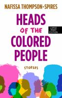 Cover illustration for Heads of the Colored People
