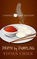 Cover illustration for Death by Dumpling