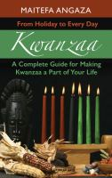 Cover illustration for Kwanzaa