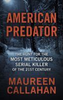 Cover illustration for American Predator