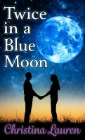 Cover illustration for Twice in a Blue Moon