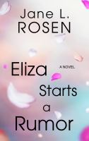 Cover illustration for Eliza Starts a Rumor