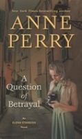 Cover illustration for A Question of Betrayal