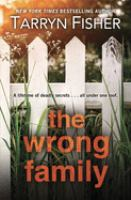 Cover illustration for The Wrong Family
