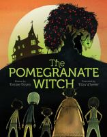 Cover illustration for Pomegranate Witch