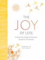 Cover illustration for The Joy of Less