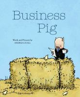 Cover illustration for Business Pig