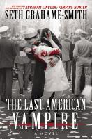 Cover illustration for Last American vampire