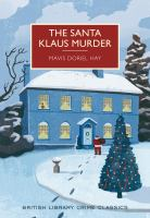 Cover illustration for The Santa Klaus Murder