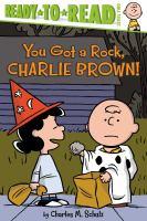 Cover illustration for You Got a Rock, Charlie Brown!