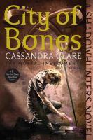 Cover illustration for City of Bones