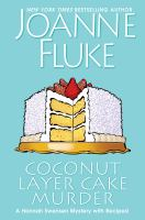 Cover illustration for Coconut Layer Cake Murder