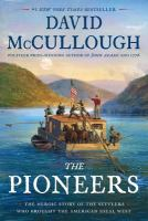 Cover illustration for The Pioneers
