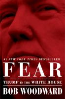 Cover illustration for Fear: Trump in the White House