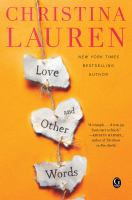 Cover illustration for Love and other words