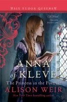 Cover illustration for Anna of Kleve