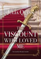 Cover illustration for The Viscount Who Loved Me