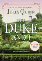 Cover illustration for The Duke and I