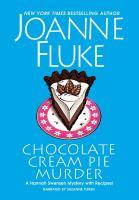 Cover illustration for Chocolate Cream Pie Murder