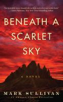 Cover illustration for Beneath A Scarlet Sky
