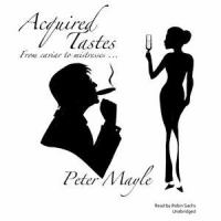 Cover illustration for Acquired Tastes