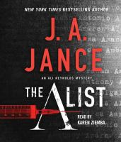 Cover illustration for The A List