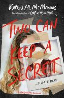 Cover illustration for Two Can Keep a Secret