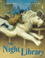 Cover illustration for The Night Library