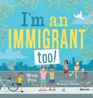 Cover illustration for I'm an Immigrant too!