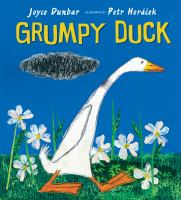 Cover illustration for Grumpy Duck