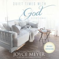Cover illustration for Quiet Times with God Devotional