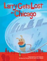 Cover illustration for Larry Gets Lost in Chicago