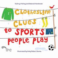Cover illustration for Clothesline Clues to Sports People Play