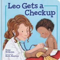 Cover illustration for Leo gets a Checkup