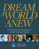 Cover illustration for Dream a world anew