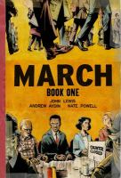Cover illustration for March Book One