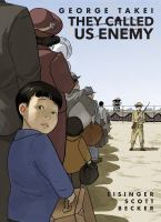 Cover illustration for They Called Us Enemy