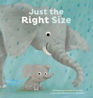 Cover illustration for Just the Right Size