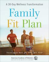Cover illustration for Family fit plan : a 30-day wellness transformation