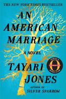 Cover illustration for An American marriage : a novel